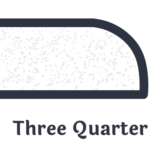 Three Quarter Bullnose